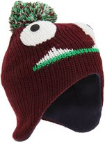 Universal Textiles Childrens/Kids Monster Design Peruvian Style Winter Bobble Hat