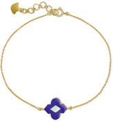 Amrapali 18-karat Gold Enamel Bracelet