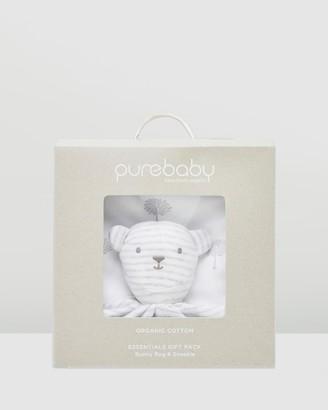Purebaby Bunny Rug Snookie Pack