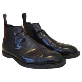 Dr. Martens Chelsea Black Leather Boots