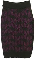Barrie Grey Cashmere Skirt for Women