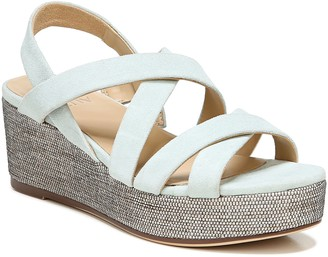 Naturalizer Strappy Wedge Sandals - Unique