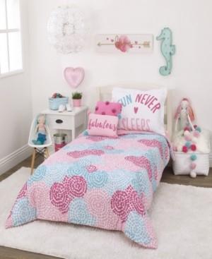 Everything Kids Pom Pom Party 2-Piece Twin Bedding Set Bedding