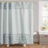 Lush Decor Skye Fabric Shower Curtain