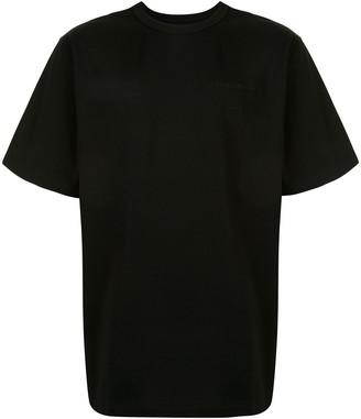 Juun.J Cotton T-Shirt With Photo Print At Rear