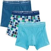 Bjorn Borg Blue 3 Pack Check Boxer Shorts