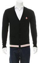 Carven Card Patch Plot Cardigan w/ Tags