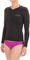 O'Neill O'Zone Compression Rash Guard - UPF 40+, Long Sleeve (For Women)