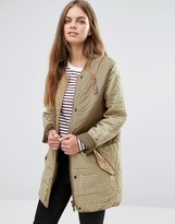 Maison Scotch Safari Quilted Jacket