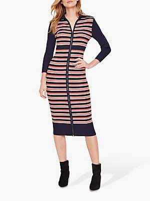 Damsel in a Dress Mita Stripe Dress, Multi