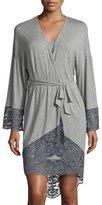 Cosabella Nouveau Kimono Robe, Heather Gray