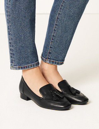 Marks and Spencer Leather Tassel Loafers