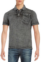 Buffalo David Bitton Heathered Polo Shirt