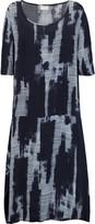 DKNY Oversized washed-poplin midi dress