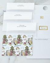 Boatman Geller Chinoiserie Autumn Flat Cards with Plain Envelopes