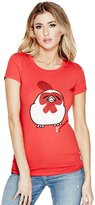 GUESS Rooster Cartoon Tee