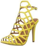 Madden-Girl Women's Directt Heeled Sandal,8.5 M US