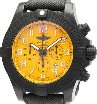 Breitling Yellow Ultralight Avenger Hurricane Breitlight Automatic XB0170 Men's Wristwatch 50 MM