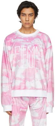 Phlemuns Pink Logo Sweatshirt