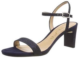 Unisa Women's Mabre_19_ev_ks Ankle Strap Sandals, Blue Ocean