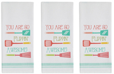 Flippin' Awesome Dish Towels (Set of 3)