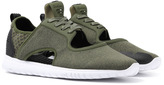 Cortica Epic Avocado Marl Neoprene Cut Out Trainers
