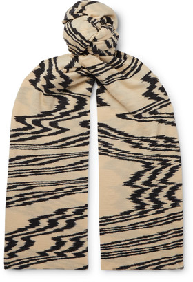 Missoni Printed Wool Scarf