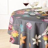 """Crate & Barrel Efflorescent 60"""" Round Tablecloth"""