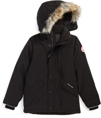 Canada Goose 'Logan' Down Parka with Genuine Coyote Fur Trim