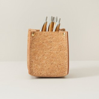 Indigo Paper Good Earth Cork Pencil Cup Holder