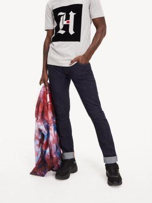 Tommy Hilfiger Lewis Hamilton Slim Fit Selvedge Jeans