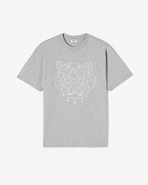 Kenzo Men's Capsule Expedition Embroidered Tiger Tee