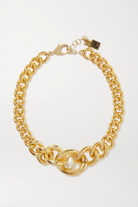 Rosantica Canasta Gold-tone Faux Pearl Choker - one size