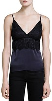 The Kooples Satin & Lace Cami