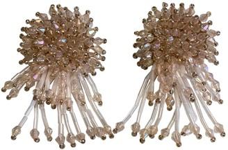 Valet Studio Pink Plastic Earrings