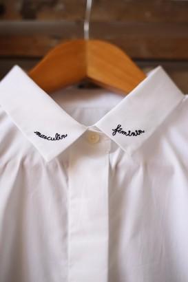 Maison Labiche Maison La Biche - Masculin Feminin Classic White Shirt - M