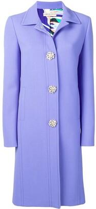 Emilio Pucci Jewelled Button Coat