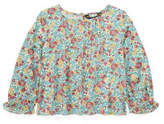Polo Ralph Lauren Pintucked Floral Top(2-7 Years)