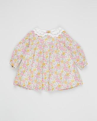 Bebe by Minihaha Liberty Lace Collar Dress - Babies