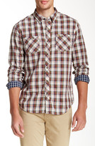 Timberland Warner River Plaid Double Layer Long Sleeve Slim Fit Shirt