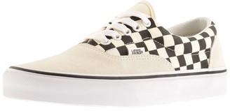Vans Era Checkerboard Trainers Cream