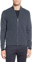 Zachary Prell Men's Zip Front Merino Cardigan