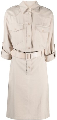 FEDERICA TOSI Classic Collar Shirt Dress