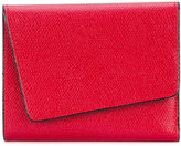 Valextra small 'Twist' wallet - women - Calf Leather - One Size