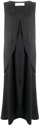 Societe Anonyme Layered Maxi Dress