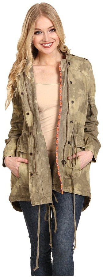Free People Festival Anorak (Army Combo) - Apparel