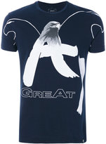 Armani Jeans eagle print T-shirt - men - Cotton - S