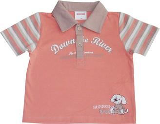 Schnizler Girl's Blumchen mit elastischem Bund Polo Shirt