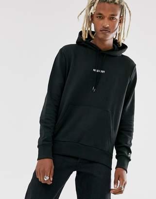 New Era Essential hoodie in black