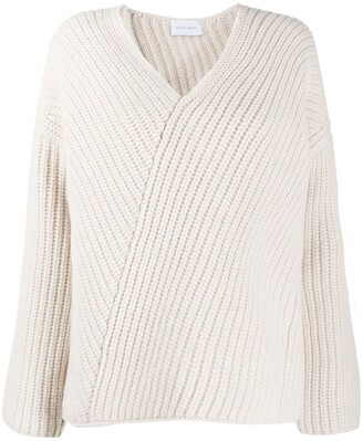 Christian Wijnants Asymmetric Knitted Jumper